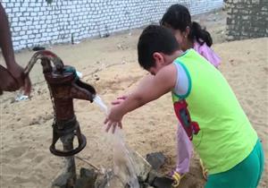 """أكثر من مليون مصري يحصلون على مياه الشرب من """"الطلمبة"""""""