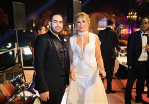 بالصور - 4 مشاهد من حفل زفاف ابنة إيناس الدغيدي