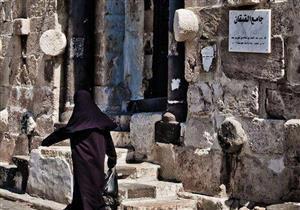 """بالصور: أقدم شاهد على تاريخ حلب.. """"جامع القيقان"""".. به أثار لمعبد قديم"""