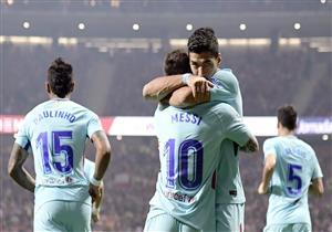 أهداف (أتلتيكو مدريد 1-1 برشلونة) البرسا يتعثر لأول مرة