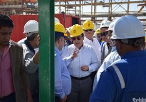 وزير البترول: أنجزنا 91% من مشروع حقل ظهر للغاز الطبيعي