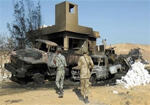 هجمات إرهابية تستهدف عددًا من الأكمنة الأمنية بالشيخ زويد