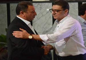هتافات متبادلة بين أنصار طاهر والخطيب اثناء مواجهة الأهلي والرجاء (صوت)
