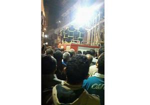 المنوفية تشيع شهيد أحداث سيناء.. وعمه: طلب نقله للعريش في ٢٠١١  (صور)