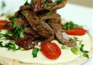 طريقة تحضير فتة شاورما اللحم