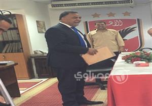 """""""عجينة"""" يتقدم بأوراق الترشح على رئاسة الأهلي"""