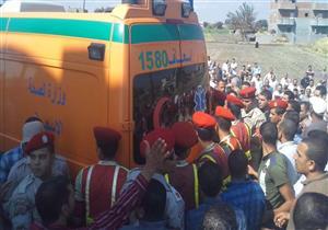 """بالصور - تشييع جنازة المجند """"أحمد فايز"""" شهيد هجوم سيناء في البحيرة"""