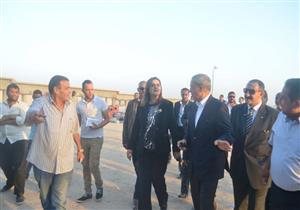 وزيرة التخطيط ومحافظ قنا يتفقدان عددًا من المشروعات الخدمية