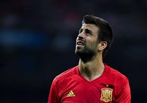 بيكيه: سأرحل عن منتخب اسبانيا بعد مونديال روسيا