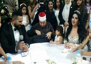 عمرو سعد لشقيقه وسمية الخشاب: ربنا يكمل حياتكم على خير- صور