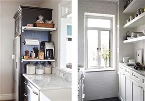 بالصور.. أفكار لتنظيم المطبخ صغير الحجم واستغلال المساحات