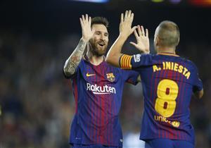 أهداف (برشلونة 2 - مالاجا 0) الدوري الإسباني
