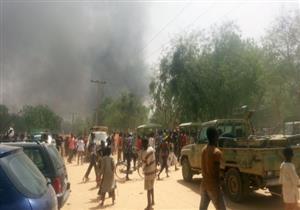 """""""3 انتحاريات"""" يفجرن أنفسهن أمام مطعم شمال شرق نيجيريا"""