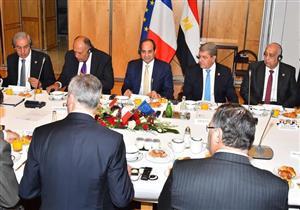 توقيع ١٦ اتفاقية ومذكرة تفاهم بين مصر وفرنسا خلال زيارة السيسي إلى باريس