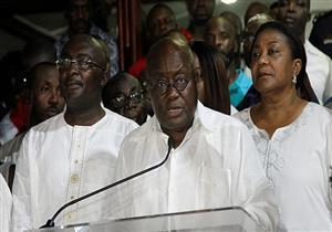 """رئيس غانا يشكر دعم مصر لمعرض الطيران الأول بـ""""أكرا"""""""
