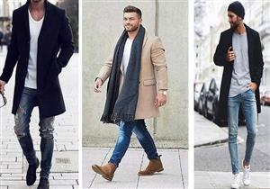"""للرجل..  إحرص على شراء """"جاكيت طويل"""" لتنسقه مع ملابسك بهذا الشكل"""