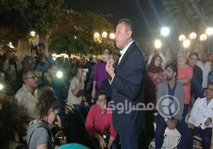 صور.. مؤتمر الخطيب الانتخابي في فرع مدينة نصر
