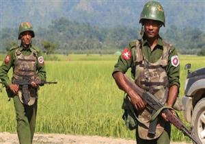 """مسيرة لـ""""مهاجرين غير شرعيين"""" تدعم جيش ميانمار"""
