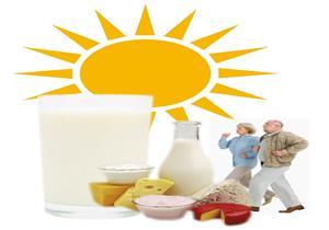 استشاري عظام: الحليب ومشتقاته والسمك والبامية للوقاية من الهشاشة