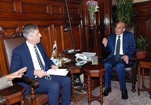 وزير الزراعة يبحث المشروع الاستثماري للزيتون مع سفير قبرص (صور)