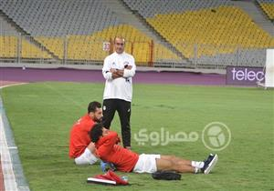 صور.. مران المنتخب الأربعاء استعدادا للكونغو بتصفيات المونديال