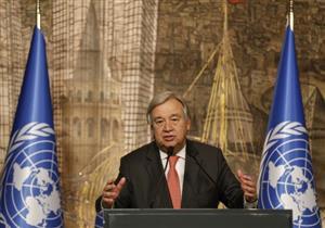الأمين العام للأمم المتحدة يزور المنطقة التي ضربها الاعصار في البحر الكاريبي