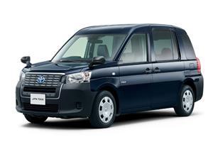 """تويوتا تكشف في طوكيو عن سيارة أجرة مستوحاة من """"تاكسي لندن"""""""