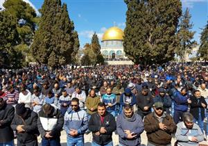 40 ألف فلسطيني أدوا صلاة الجمعة في المسجد الأقصى