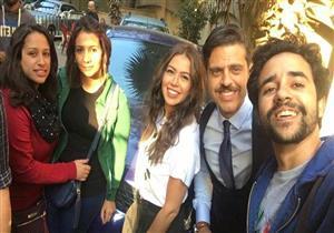 """طارق صبري يقابل لقاء الخميسي في """"وراء الشمس"""""""