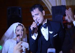 بالصور.. نجوم الفن والغناء في حفل زفاف الفنان مصطفى أبو سريع