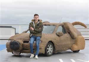 بالصور.. بريطاني يحول سيارته إلى ما يشبه الكلب للتخلص من صديقته