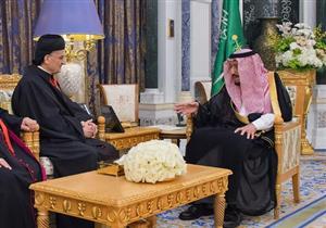"""الملك سلمان والبطريرك الماروني يؤكدان دور الأديان في """"نبذ الإرهاب"""""""