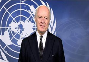 دي ميستورا وجاتيلوف يجتمعان في إطار التحضير لمباحثات سوريا القادمة