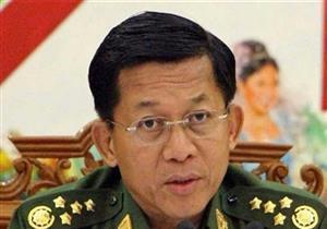 """قائد جيش ميانمار: أطلعت تيلرسون على """"السبب الحقيقي"""" لفرار الروهينجا"""