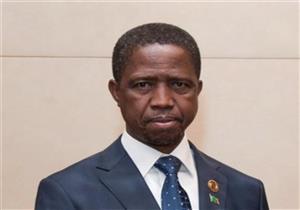رئيس زامبيا يغادر القاهرة بعد لقاء السيسي