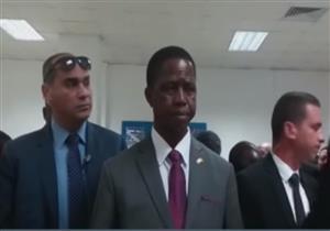 الرئيس الزامبي يتفقد المنطقة الصناعية بالعاشر من رمضان -فيديو