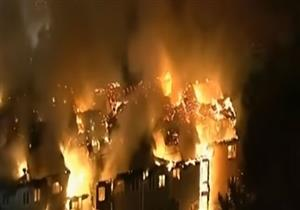 حريق ضخم يلتهم دار رعاية مسنين في بنسلفانيا- فيديو