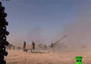 معارك بين الجيش السوري وعناصر إرهابية بمحيط البوكمال- فيديو