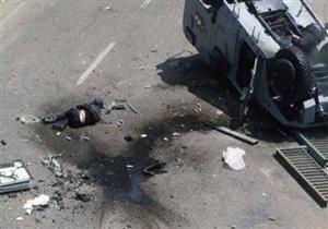 إصابة أمين شرطة ومجندين اثنين إثر انقلاب مدرعة بالعريش