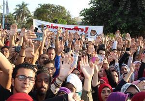 """بالصور والفيديو- فريق """"شارموفرز"""" يشعل حفل جامعة عين شمس"""