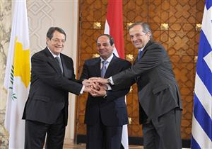 السيسي يصل إلى نيقوسيا للمشاركة بالقمة الثلاثية بين مصر وقبرص واليونان