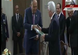 السيسي ونظيره القبرصي يشهدان توقيع عدد من الاتفاقيات- فيديو