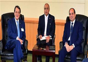السيسي في البرلمان القبرصي: مصر تدعم توحيد شطري الجزيرة