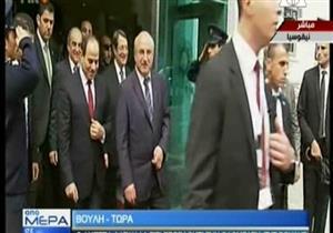 السيسي يغادر مقر البرلمان القبرصي- فيديو