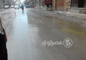 بالصور- موجة طقس سيء تضرب كفر الشيخ
