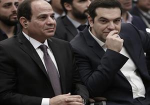 السيسي يبحث مع رئيس وزراء اليونان تعزيز العلاقات الثنائية