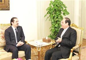 """الحريري: اتفقت مع """"السيسي"""" على ضرورة إبعاد لبنان عن السياسات الإقليمية"""