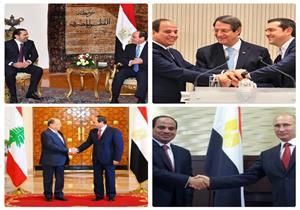 في 24 ساعة.. السيسي في قبرص ويلتقي الحريري ويبحث أزمة سوريا مع بوتين