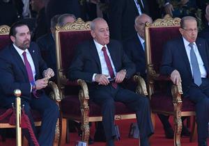 عون والحريري وبري يشهدون العرض العسكري بمناسبة الذكرى الـ74 لاستقلال لبنان