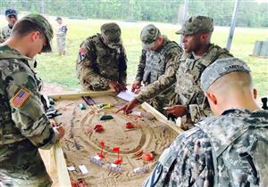 بالصور- كيف يتدرب عناصر الجيش الأمريكي؟